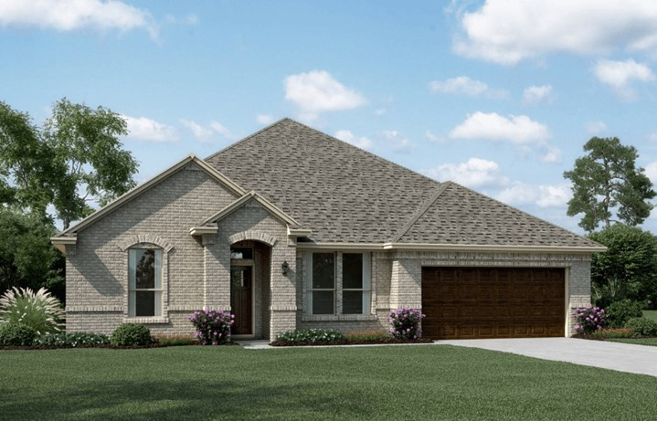 Khovnanian Homes Plan Sanderson ll Elevation A in Canyon Falls