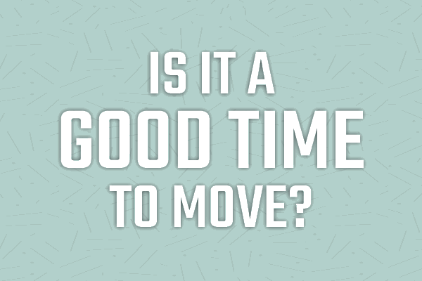 Is it a good time to move graphic | Canyon Falls TX