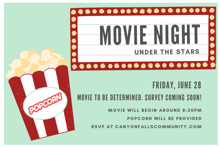 Movie Night under the Stars Canyon Falls Community Northlake, TX