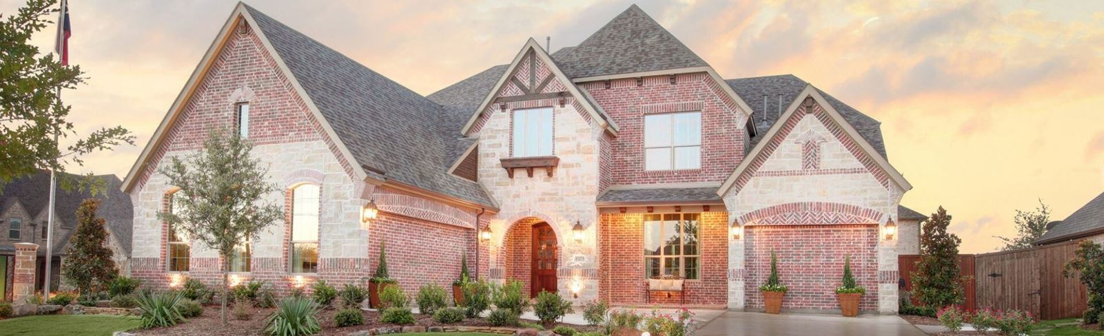 New home in Canyon Falls community located in Northlake, TX