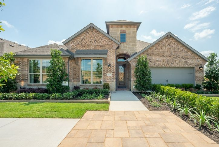 New American Legend Model Home at Canyon Falls community Northlake, TX