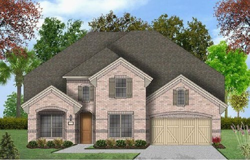 Coventry Homes Plan 3341 Elevation B in Canyon Falls