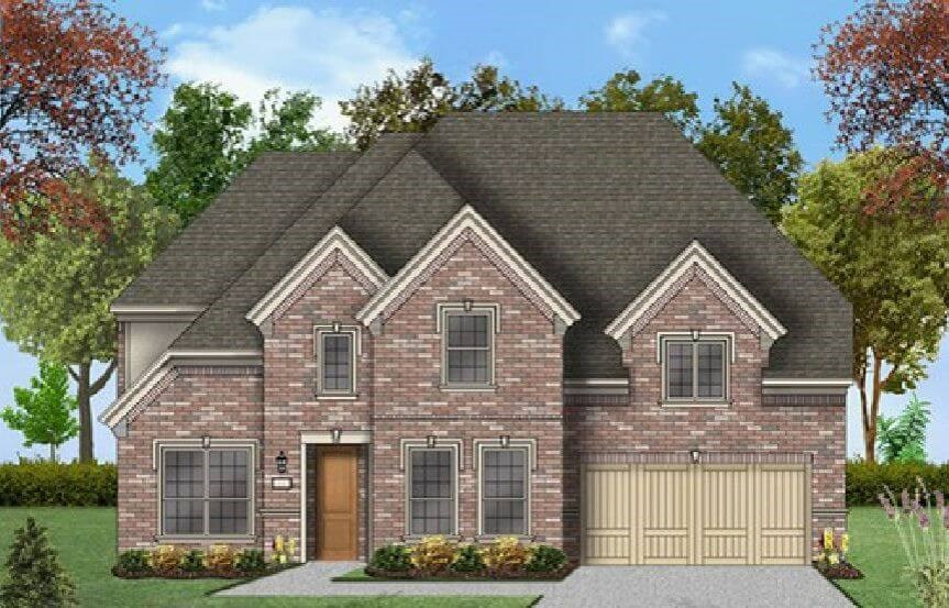 Coventry Homes Plan 3341 Elevation D in Canyon Falls
