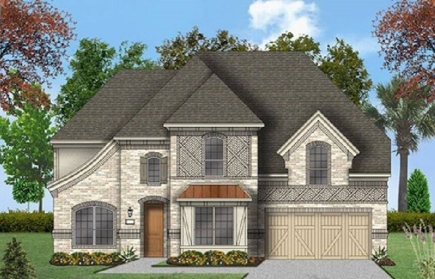 Coventry Homes Plan 3341 Elevation E in Canyon Falls