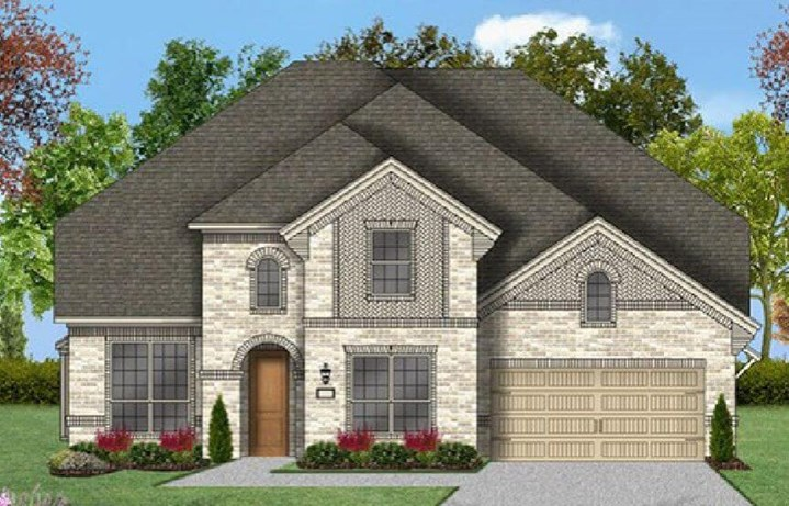 Coventry Homes Plan 3360 Elevation A in Canyon Falls