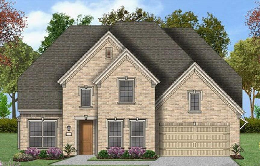 Coventry Homes Plan 3360 Elevation D in Canyon Falls