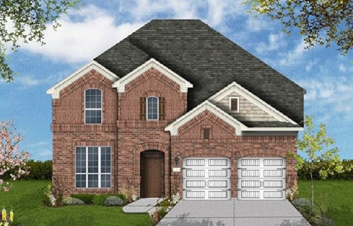 Coventry Homes Plan 3097 Elevation A in Canyon Falls