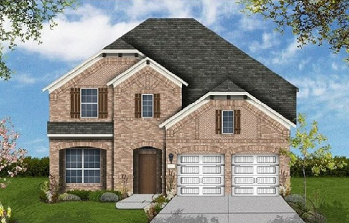 Coventry Homes Plan 3097 Elevation C in Canyon Falls