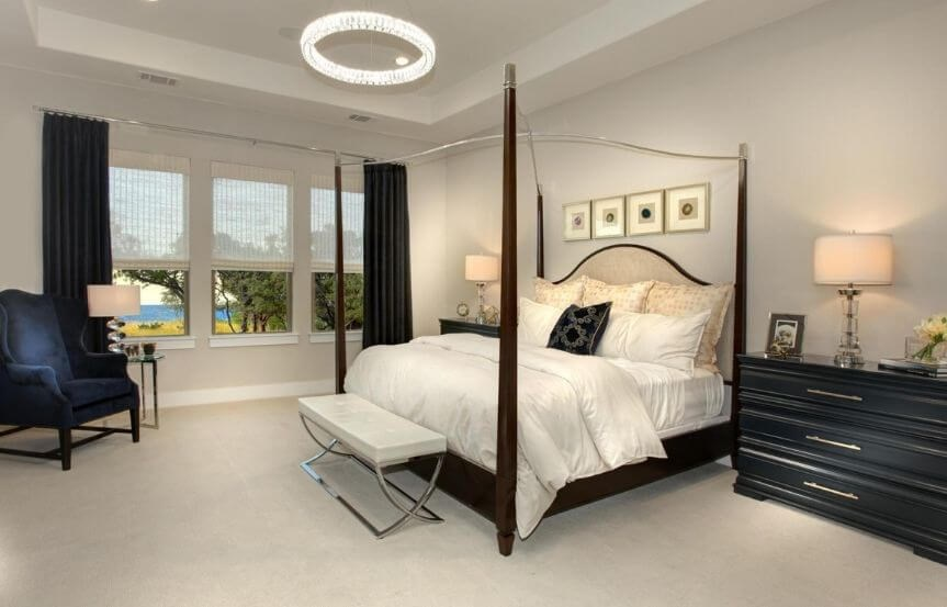 Drees Homes Plan Castella Master Bedroom in Canyon Falls