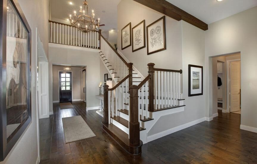 Drees Homes Plan Tanner Foyer in Canyon Falls
