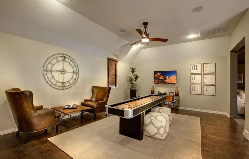 Drees Homes Plan Tanner Game Room in Canyon Falls