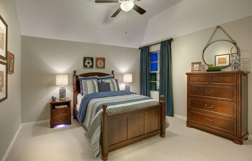 Drees Homes Plan Tanner Guest Room in Canyon Falls