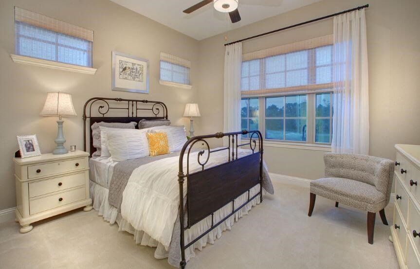 Drees Homes Plan Tanner Third Bedroom in Canyon Falls