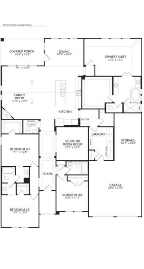 Drees Homes Plan Presley Floorplan in Canyon Falls