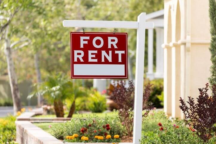 For rent sign | Canyon Falls, TX