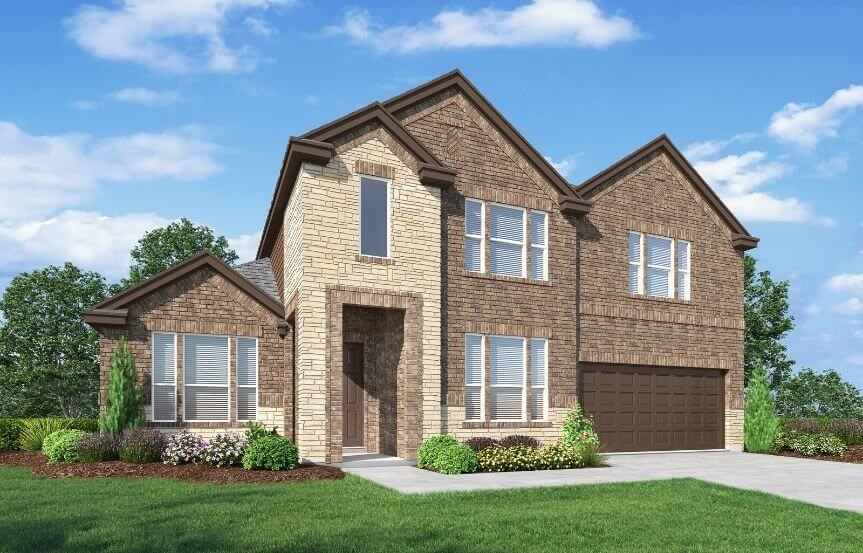 Landon Homes Plan Sienna Elevation B in Canyon Falls