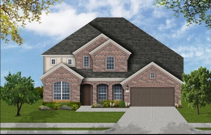 Coventry Homes Plan 4226 Elevation B in Canyon Falls