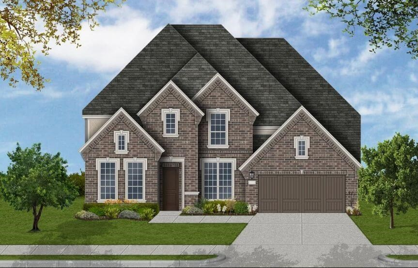 Coventry Homes Plan 4226 Elevation D in Canyon Falls