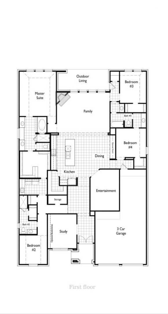 Highland Homes Plan 214 Floorplan in Canyon Falls