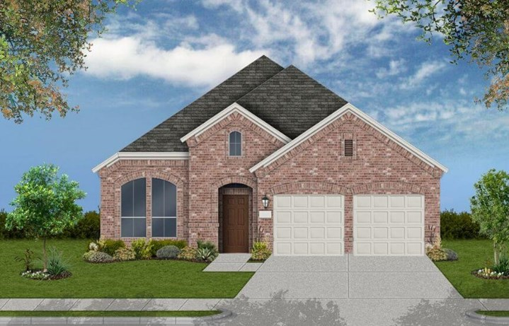 Coventry Homes Plan 2002 Elevation A in Canyon Falls