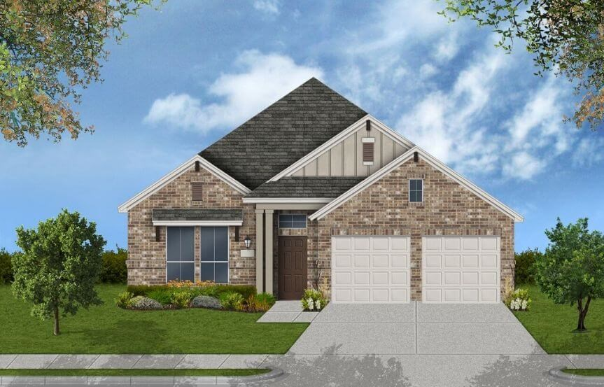 Coventry Homes Plan 2033 Elevation B in Canyon Falls