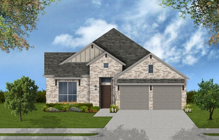 Coventry Homes Plan 2033 Elevation C in Canyon Falls