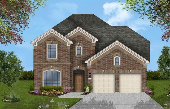 Coventry Homes Plan 2972 Elevation A in Canyon Falls