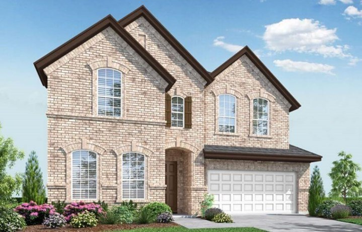 Landon Homes Plan 529 Rainer Elevation A in Canyon Falls