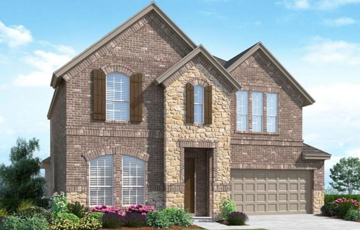 Landon Homes Plan 529 Rainer Elevation B in Canyon Falls