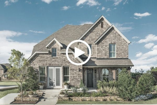 Ashton Woods model home in Canyon Falls, TX