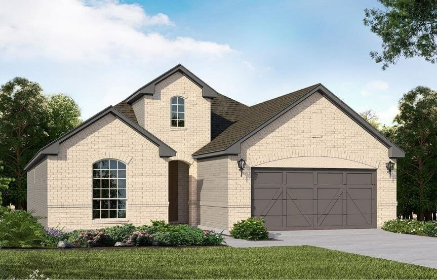 American Legend Homes Plan 1520 Elevation A in Canyon Falls