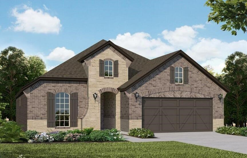 American Legend Homes Plan 1520 Elevation C in Canyon Falls