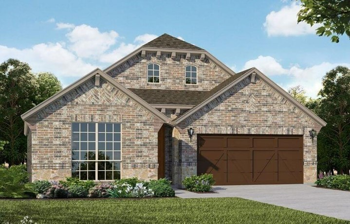 American Legend Homes Plan 1521 Elevation A in Canyon Falls