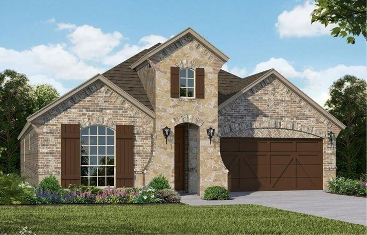 American Legend Homes Plan 1529 Elevation A in Canyon Falls