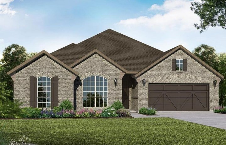 American Legend Homes Plan 1685 Elevation A in Canyon Falls