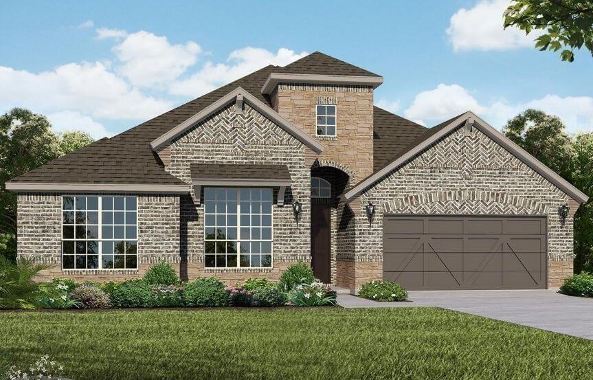 American Legend Homes Plan 1685 Elevation C in Canyon Falls