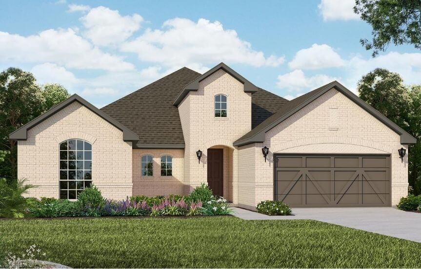 American Legend Homes Plan 1690 Elevation A in Canyon Falls