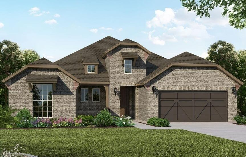 American Legend Homes Plan 1690 Elevation B in Canyon Falls