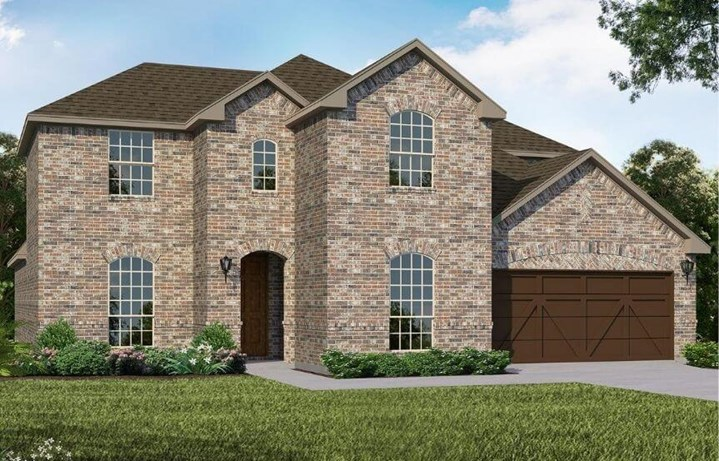 American Legend Homes Plan 1689 Elevation A in Canyon Falls