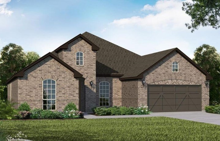 American Legend Homes Plan 1688 Elevation A in Canyon Falls