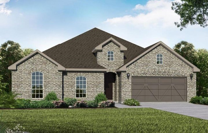 American Legend Homes Plan 1683 Elevation A in Canyon Falls