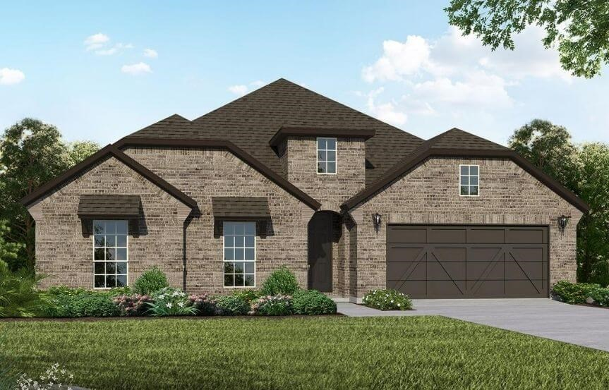 American Legend Homes Plan 1683 Elevation B in Canyon Falls