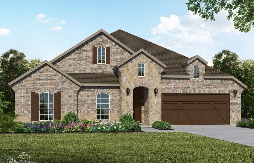 American Legend Homes Plan 1683 Elevation C in Canyon Falls