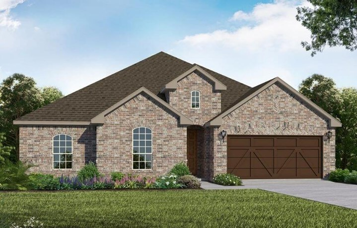 American Legend Homes Plan 1681 Elevation A in Canyon Falls