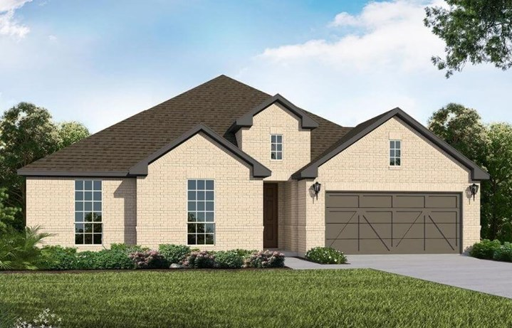 American Legend Homes Plan 1682 Elevation A in Canyon Falls