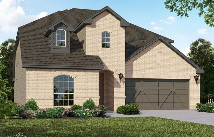 American Legend Homes Plan 1528 Elevation A in Canyon Falls