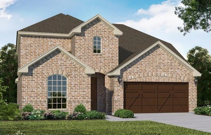 American Legend Homes Plan 1525 Elevation A in Canyon Falls