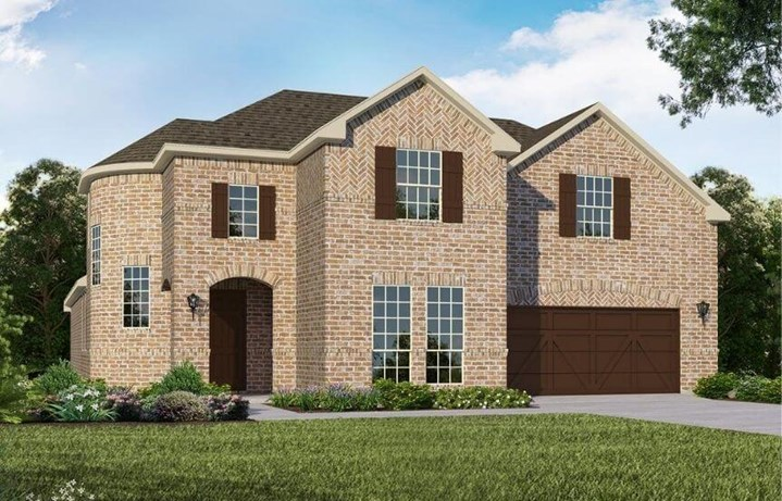 American Legend Homes Plan 1687 Elevation A in Canyon Falls