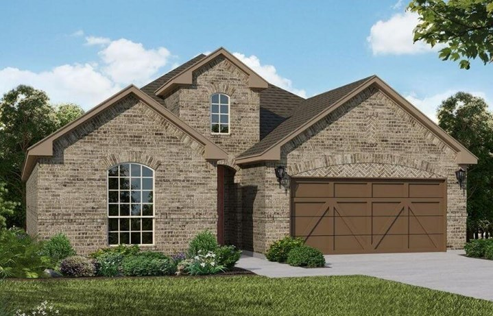 American Legend Homes Plan 1530 Elevation A in Canyon Falls