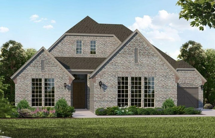 Belclaire Homes Plan B815 Elevation A in Canyon Falls
